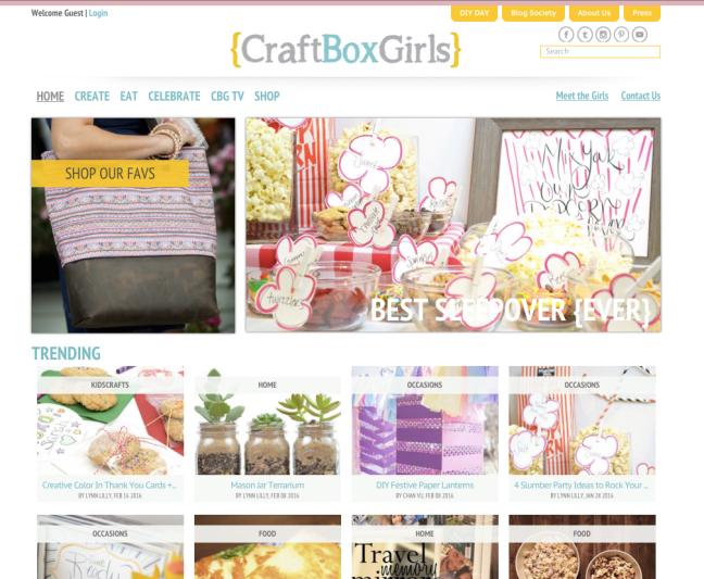 Craft box girls lynn lilly diy expert founder of craft box craft box girls solutioingenieria Images